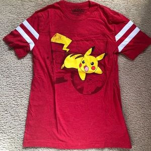 Red Pikachu shirt